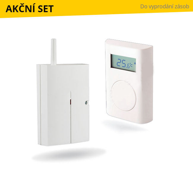 Set bezdrát. termostatu TP-83N a relé AC-82 Jablotron