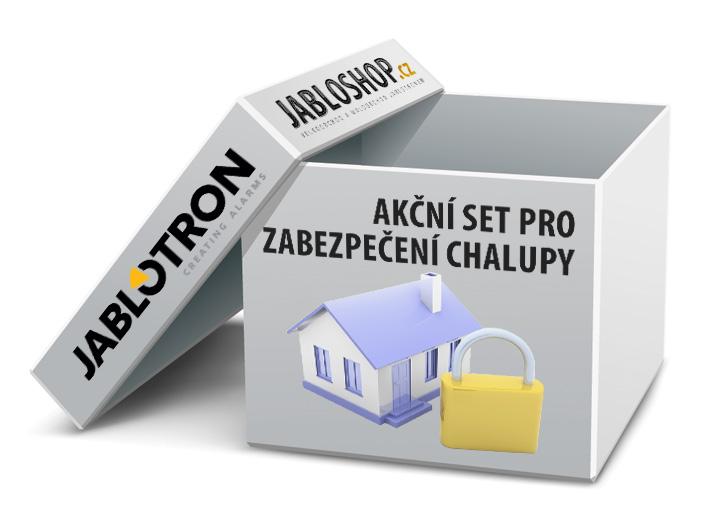 Jablotron GSM alarm pro zabezpečení chalupy drátový