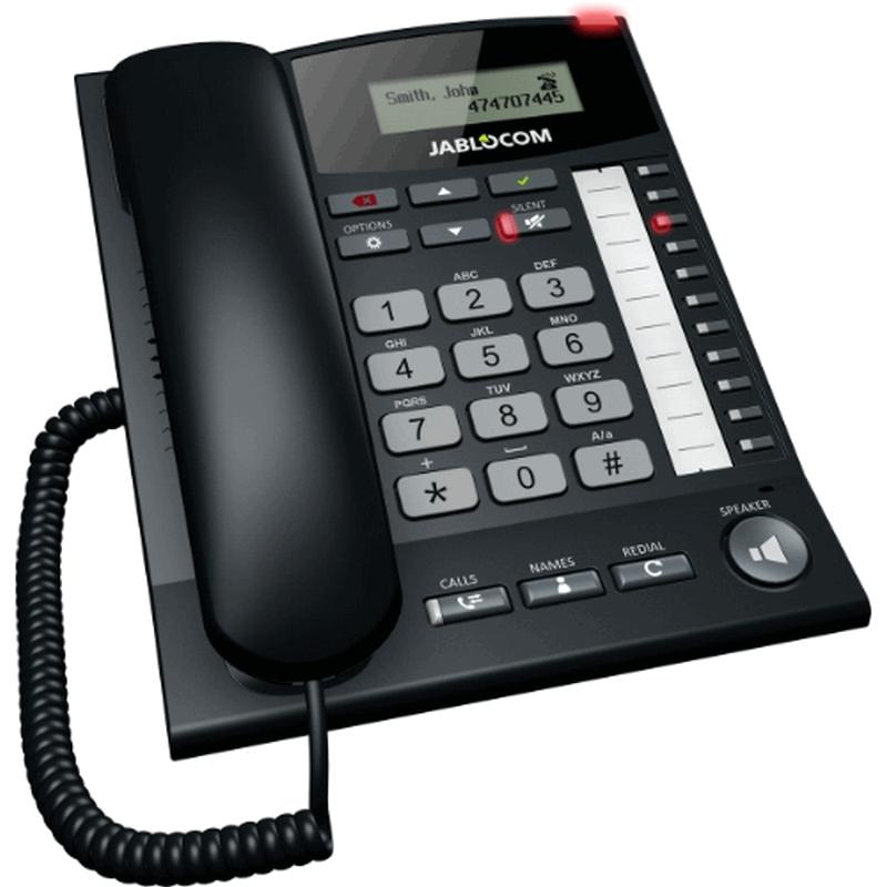 Chytrý stolní GSM telefon - MaxiMobil GDP-06 Essence s anténním vstupem pro externí anténu