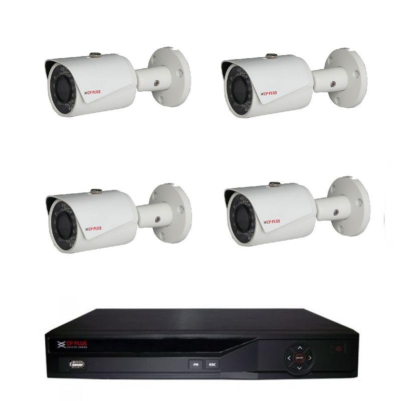 Kamerový set IP-7 (IP kamery dome venkovní 1Mpix, objektiv 3,6mm)