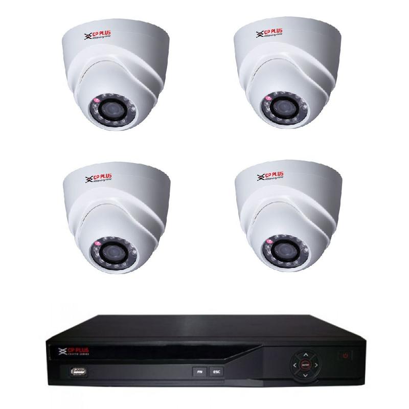 Kamerový set IP-4 (IP venkovní dome kamery 2Mpix, objektiv 3,6mm)
