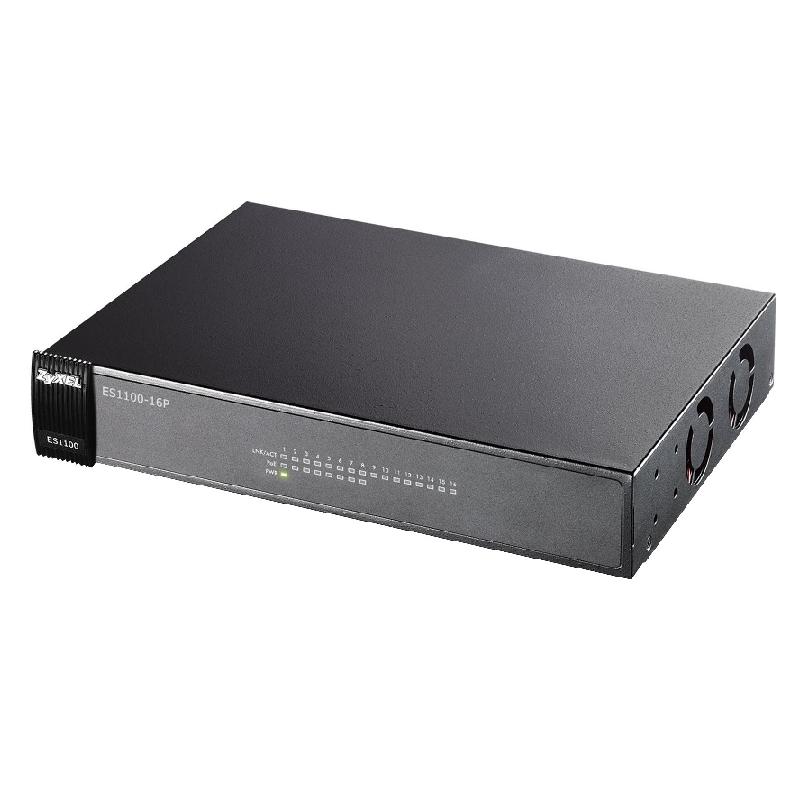 ZyXEL ES-1100-16P - kamerové systémy CP PLUS