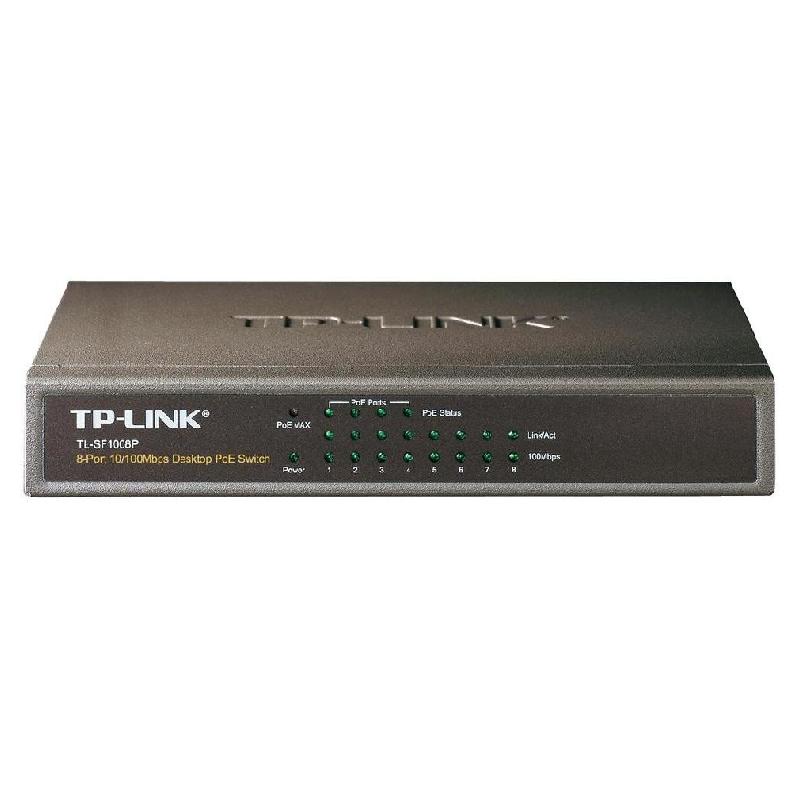 TP-LINK TL-SF1008P - kamerové systémy CP PLUS
