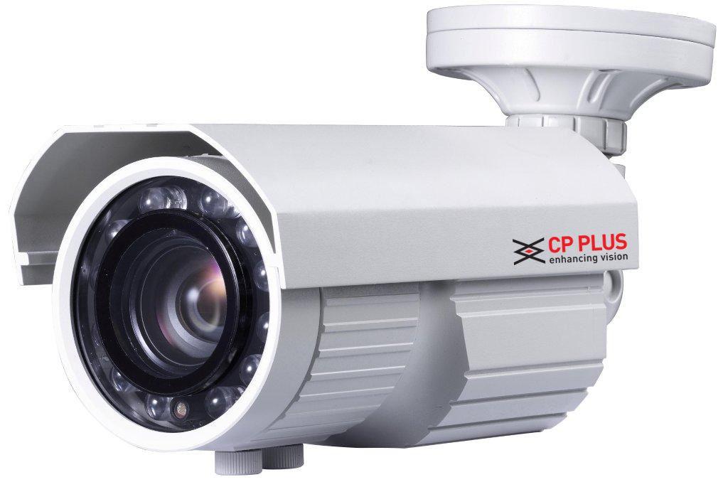 CP-EAC-TY70MVFL8 Venkovní barevná kamera s IR přísvitem - kamerové systémy CP PLUS
