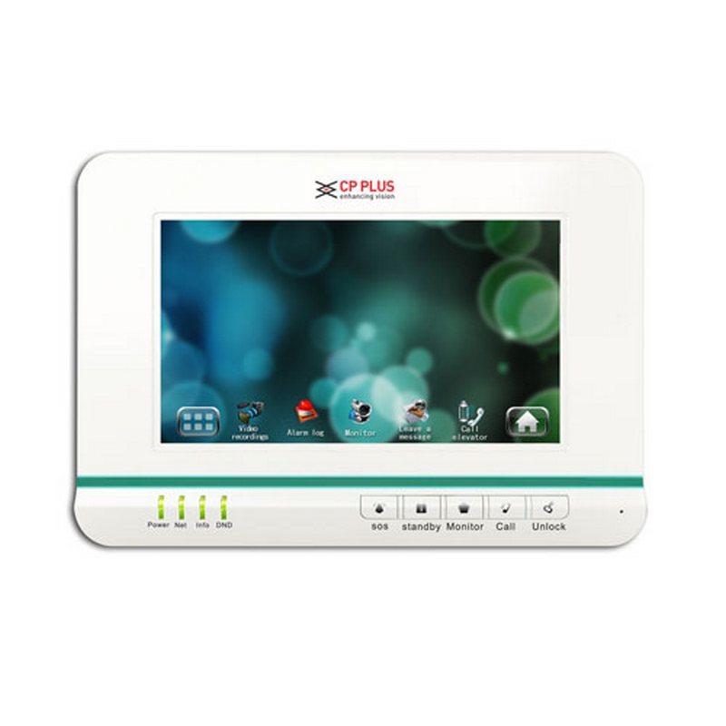 Kamerové systémy CP PLUS CP-UNB-RM352 IP domovní videotelefon - vnitřní jednotka