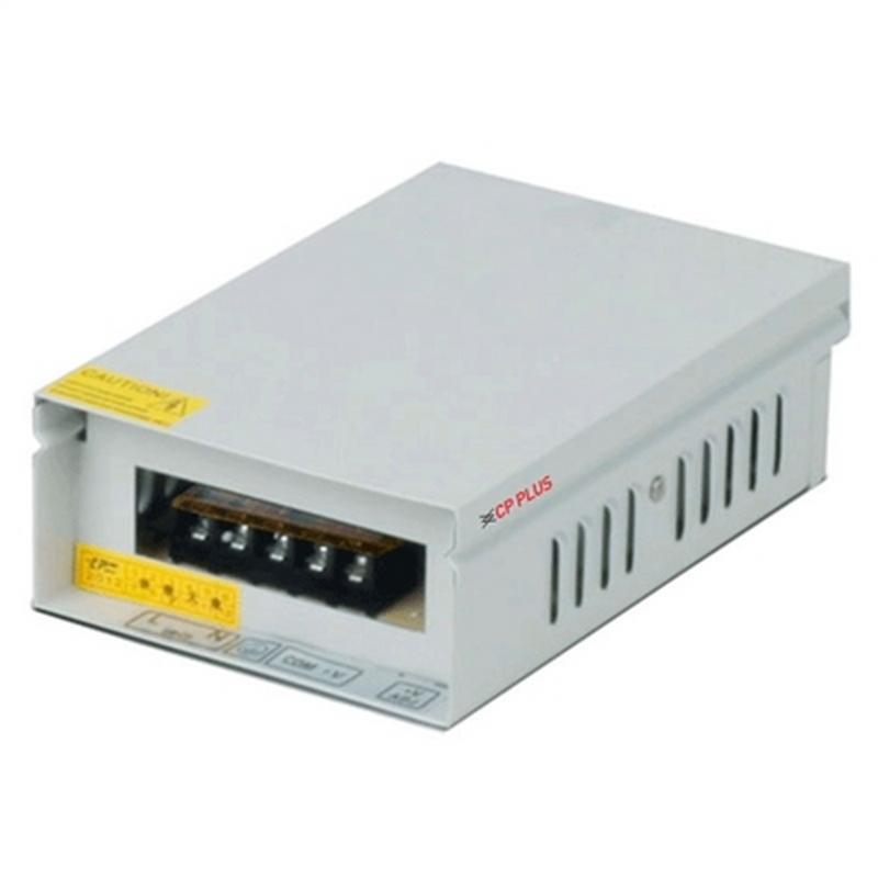 Kamerové systémy CP PLUS Napájecí zdroj 12V/5A s volitelným výstupem napětí 11,4-13,2V, výkon 60W